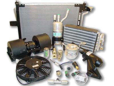 Todo lo que necesita el taller para la reparación del aire acondicionado para automoción.