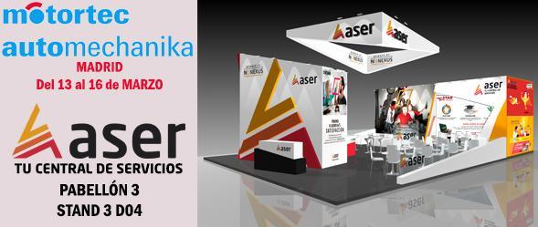 Grupo Aser Aftermarket en Motortec Automechanika 2.019